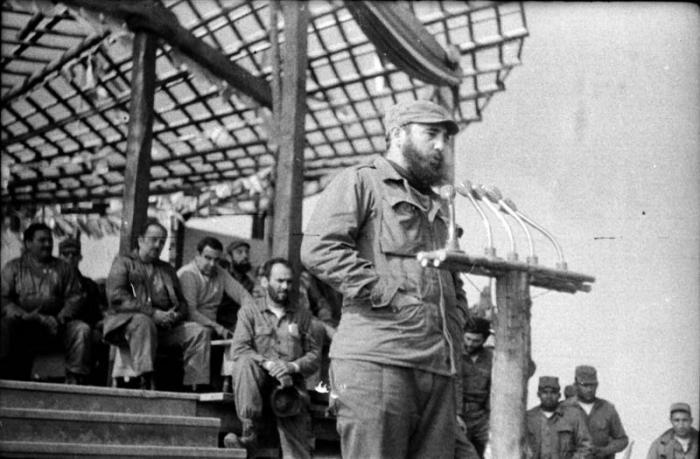 Fidel Castro y la victoria en Pino del Agua (+Audio)