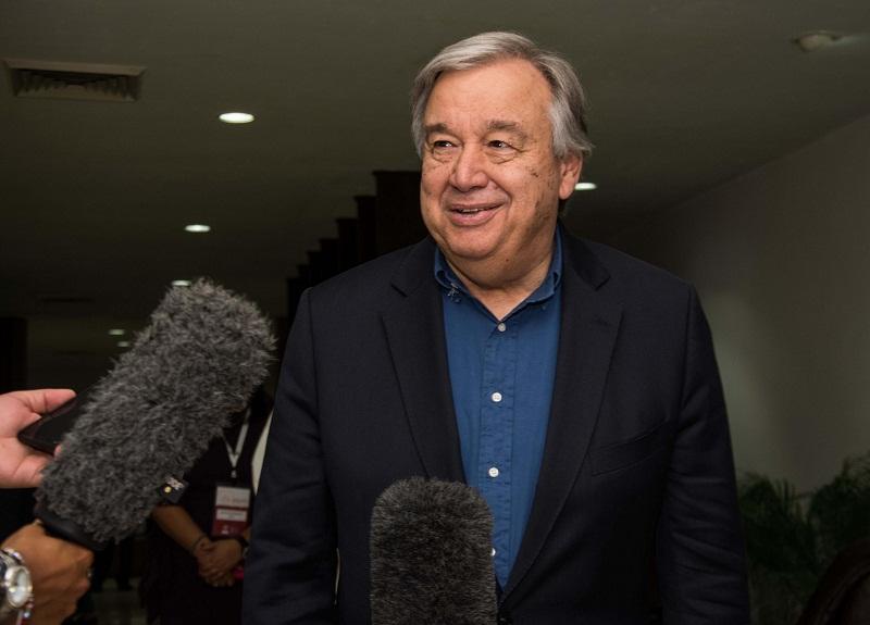 António Guterres parte de Cuba agradecido por su hospitalidad