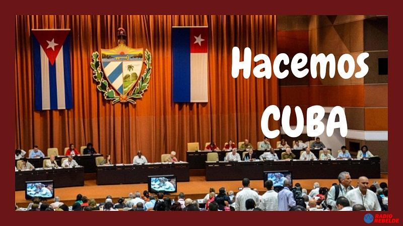 A debate economía cubana en sesión extraordinaria del Parlamento