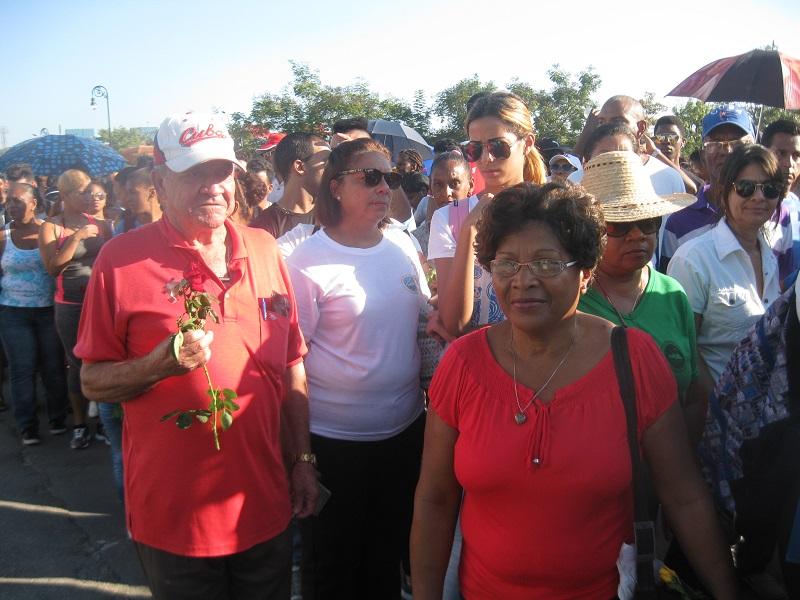 Rinden tributo a Fidel en Santiago de Cuba