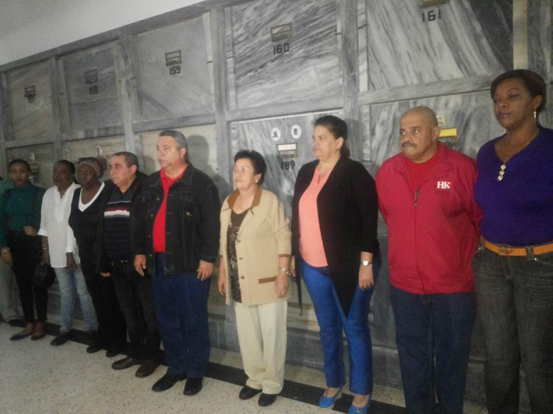 Tributo del Movimiento Sindical a Jesús Menéndez