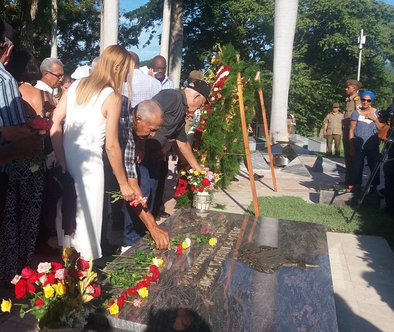 Homenaje póstumo a Juan Almeida en la Sierra Maestra