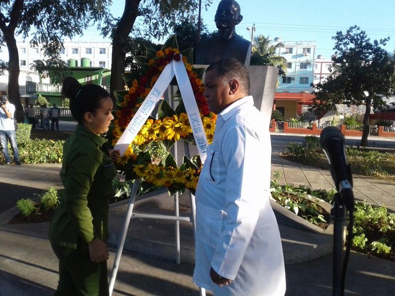 Rinden tributo a los mártires internacionalistas en Ciego de Ávila