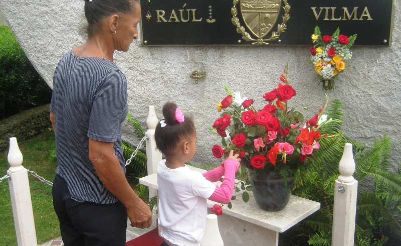 Homenaje a Vilma en la Sierra Cristal (+Audio)