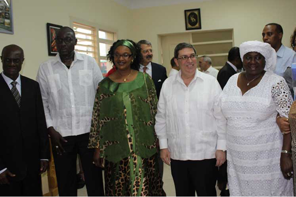 Niger Foreign Minister Inaugurates Embassy in Havana