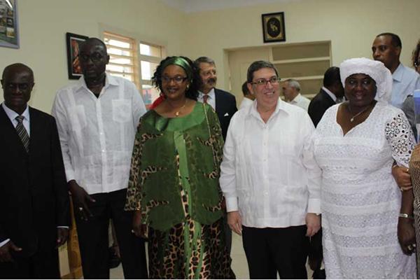 Canciller de Níger inaugura embajada de su país en La Habana