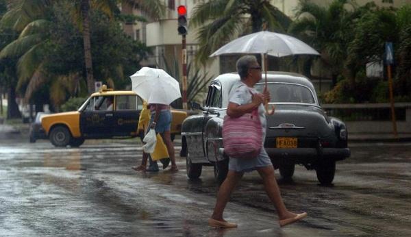 Continuarán intensas precipitaciones en Cuba