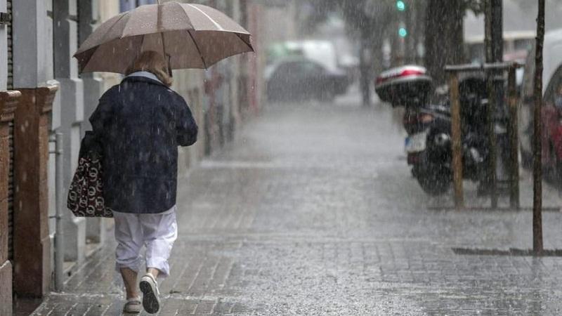 Pronostican intensas lluvias para hoy y mañana