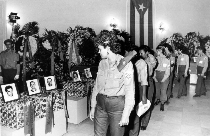 Honra Cuba a los mártires internacionalistas