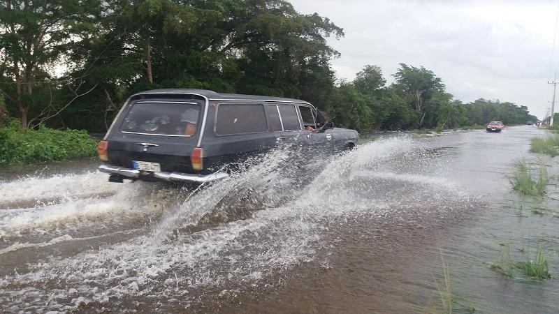 Peligrosa inundación en la Ciénaga de Zapata: 2 300 evacuados hasta el momento
