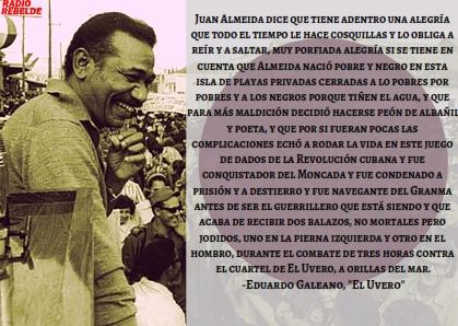 Juan Almeida, el hombre que no se rindió jamás
