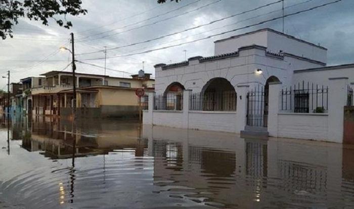 Jovellanos en Matanzas, registra 338 milímetros de lluvia en 33 horas