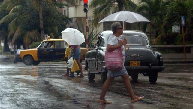 Lluvias intensas desde Matanzas hasta Ciego de Ávila
