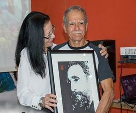 Oscar Lopez Rivera Participated in a Tribute to Fidel at the Casa del ALBA