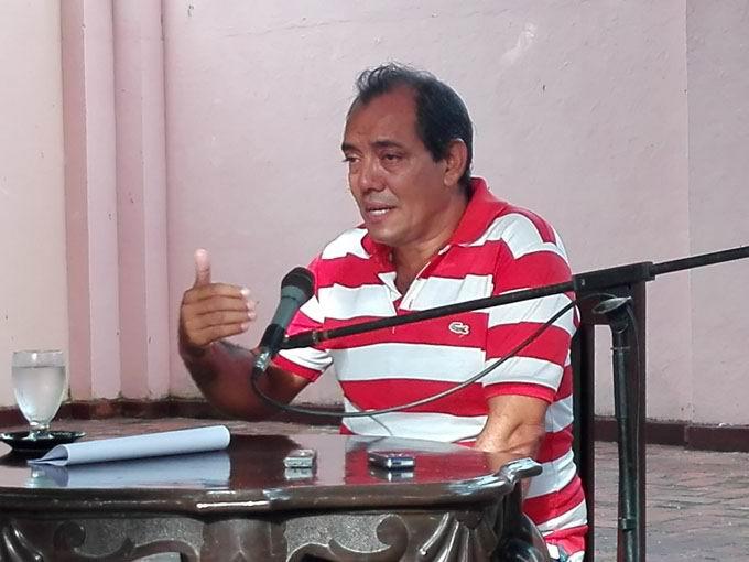 Historiador de Bayamo, Ludín Fonseca