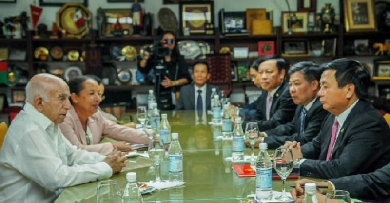 Machado Ventura, recibió a Nguyen Xuan Thang miembro del Partido Comunista de Vietnam