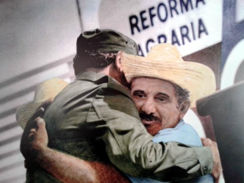 Manuel rememora sus encuentros con  Fidel. Fotos del autor