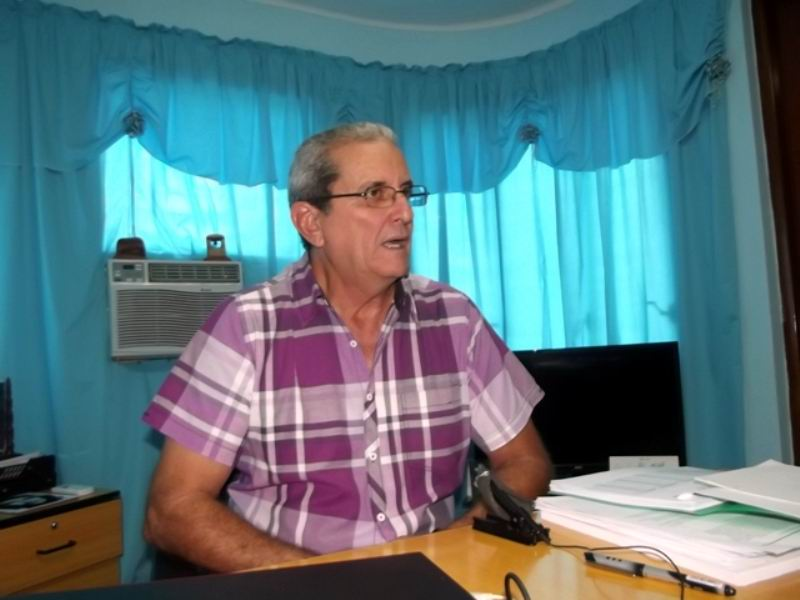 Presidente Comisión Electoral provincial Camagüey, Mariano Basulto Pérez.