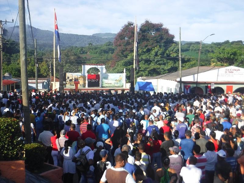 Homenaje de Raúl y Díaz-Canel al Comandante Juan Almeida