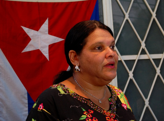 Mercedes López Acea ejerce su derecho al voto (+Audio)