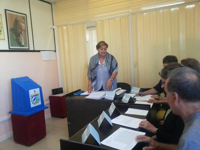 Mesa electoral No. 2, Circunscripción 11, Playa