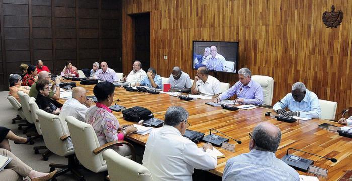 Realizan reunión del Grupo Gubernamental de Apoyo a La Habana