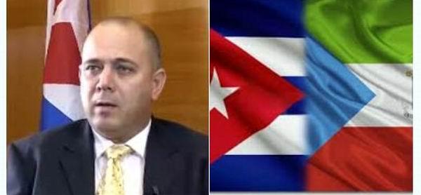 Sostiene Vicepresidente cubano encuentro de trabajo con el mandatario de Guinea Ecuatorial