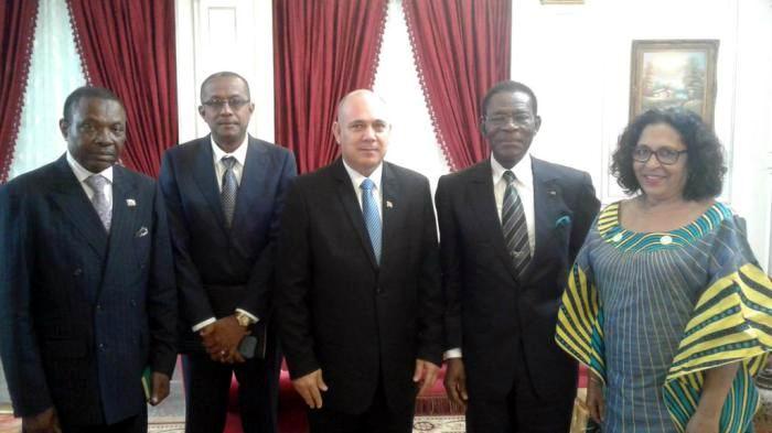 Vicepresidente cubano concluye visita oficial a Guinea Ecuatorial