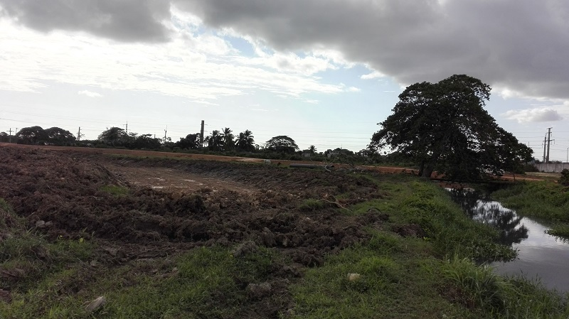 La construcción de un canal aliviador beneficiará a cientos de familias afectadas por la crecida del arroyo Yaguarama