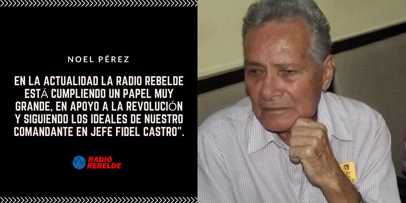Radio Rebelde sigue fundando