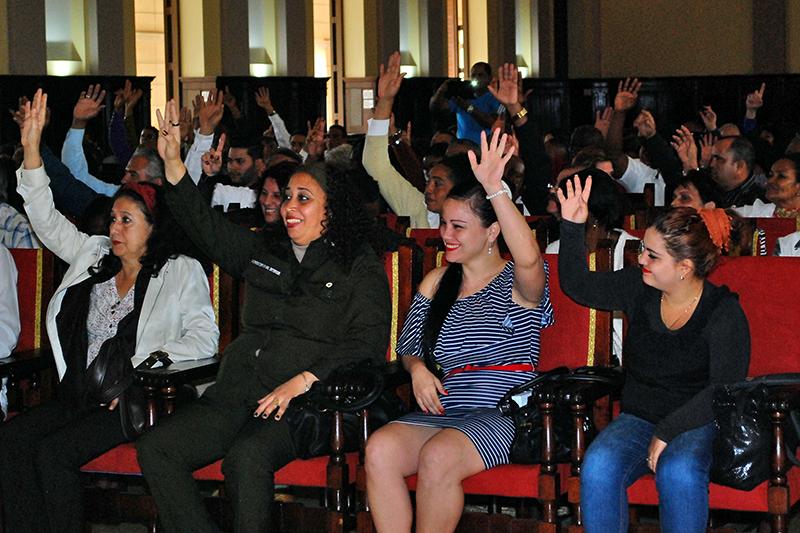Nominan en La Habana a candidatos a delegados provinciales y diputados al Parlamento
