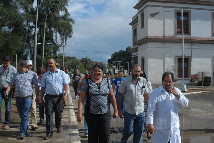 Ejecutan obras constructivas en La Habana en saludo a la Victoria de Girón