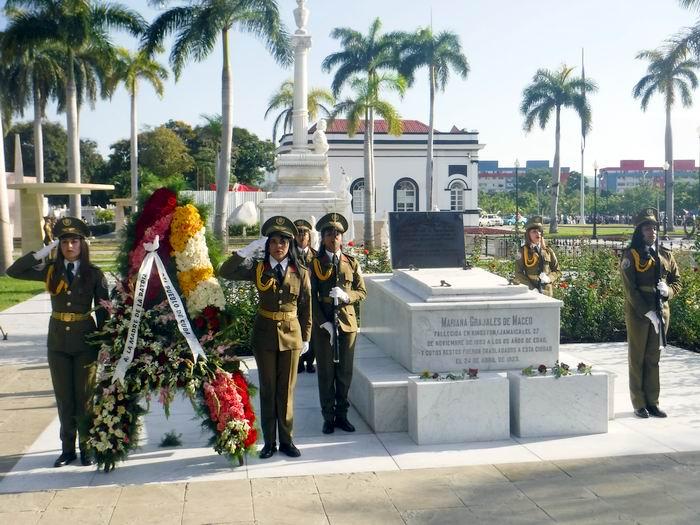 Homenaje de la Patria a Mariana Grajales