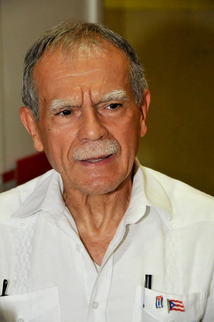"Oscar López Rivera: ""En Cuba me siento como en casa"" (+Audio)"