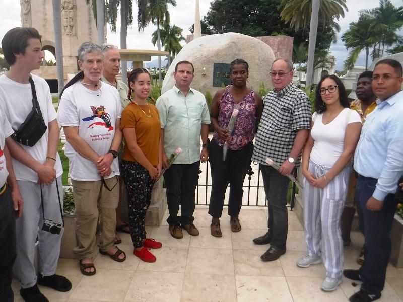 Pastores por la Paz rinden homenaje a Fidel y próceres de la Patria