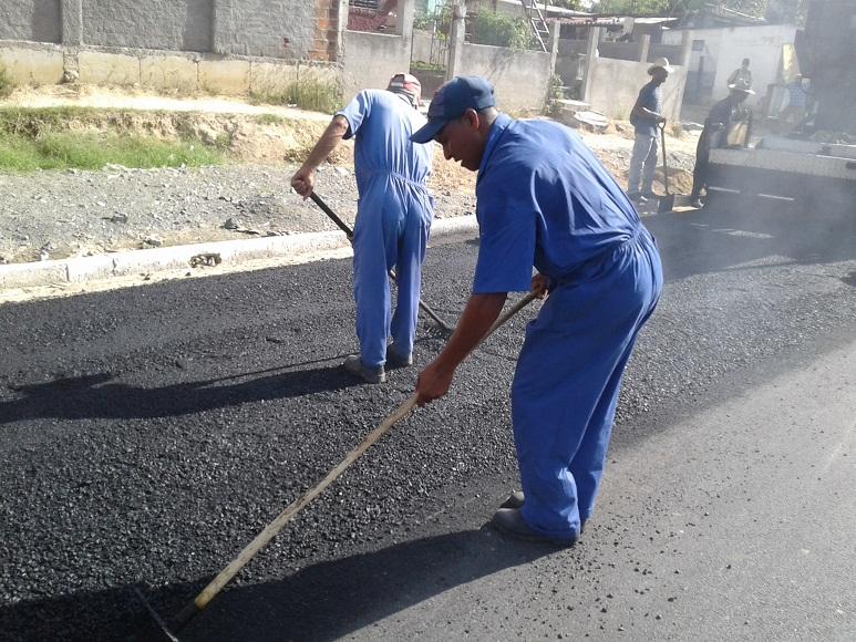Terminan pavimentación de la carretera central tunera