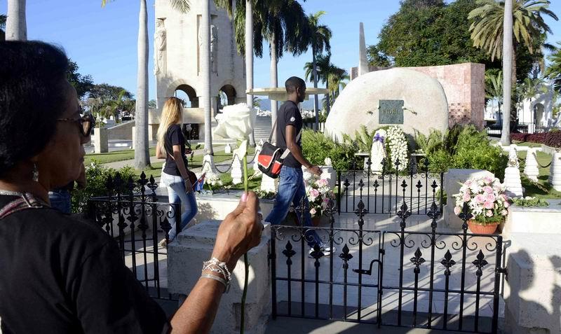 Homenaje del pueblo de Santiago de Cuba a Fidel. Foto: Miguel Rubiera