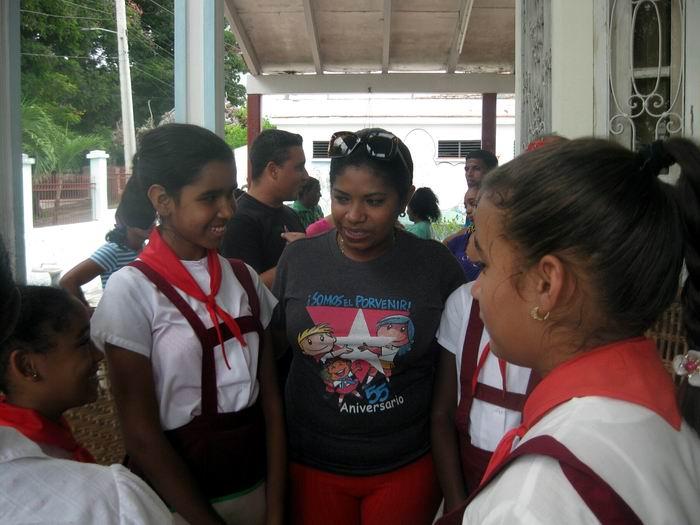 En Camagüey, acto nacional de ingreso a la OPJM