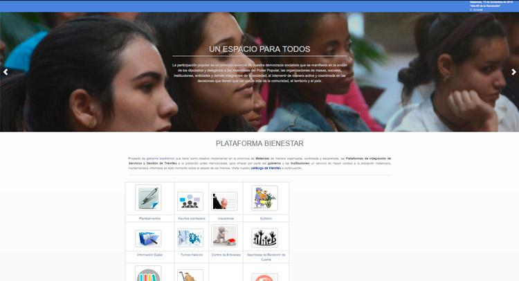 Plataforma Bienestar para gobierno electrónico se ajusta en Matanzas