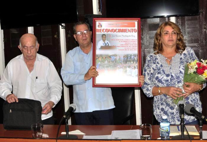 Promovida Deivy Pérez Martín al frente del PCC en Sancti Spíritus. Foto: Vicente Brito/ Escambray