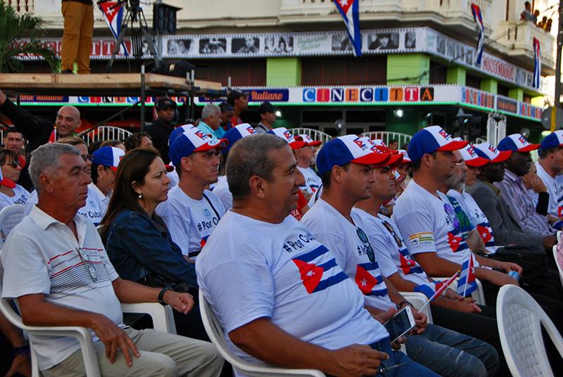 La Revolución cubana por siempre socialista