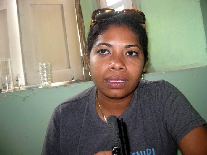 Presidenta Nacional de los Pioneros Rosa María Ramírez Montero