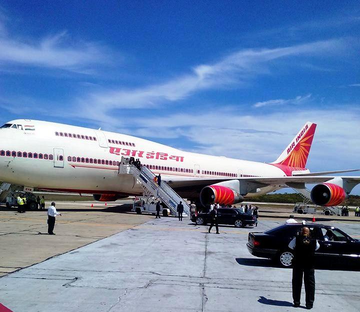 Llegó Presidente de la India a Santiago de Cuba