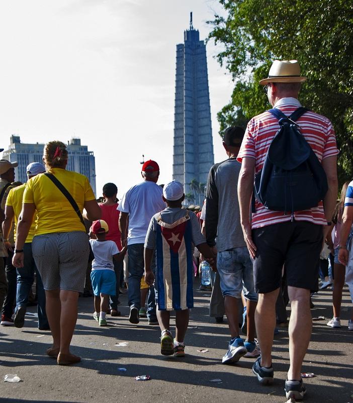 Amplio respaldo a la Revolución Cubana en La Habana