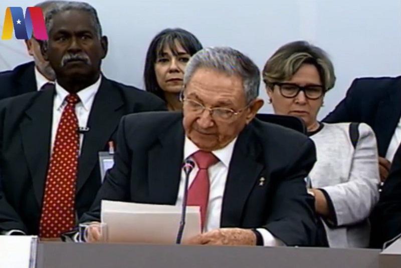 Advierte Raúl Castro que vuelven a subestimar a nuestros pueblos