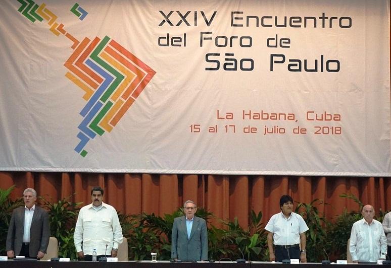 Asiste Raúl Castro a clausura del Foro de Sao Paulo (+Video)