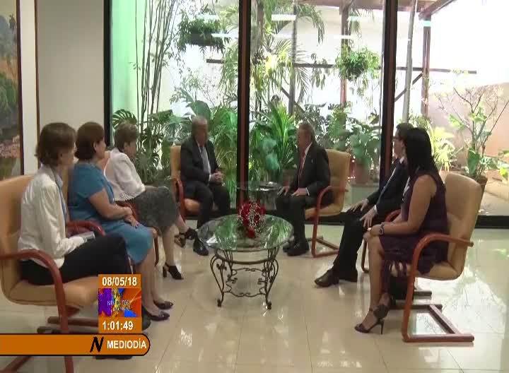 Sostuvo Raúl Castro encuentro con el Secretario General de la ONU