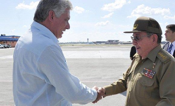 Despidió Raúl Castro al Presidente cubano