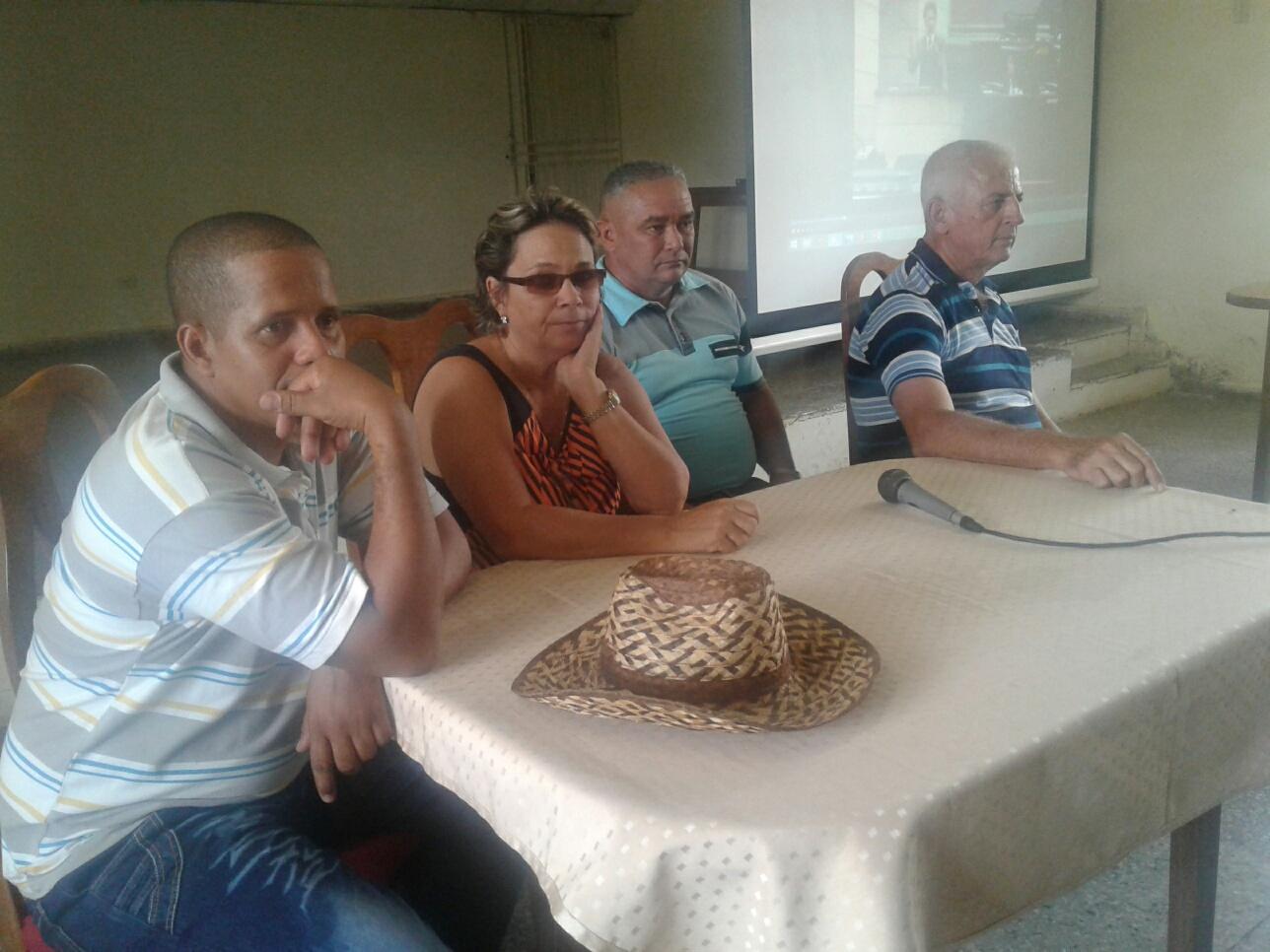 Reconocen a antiguos dirigentes campesinos de Mayabeque