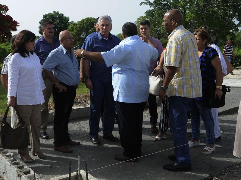 Encabeza Miguel Díaz Canel visita de gobierno a la provincia de Granma